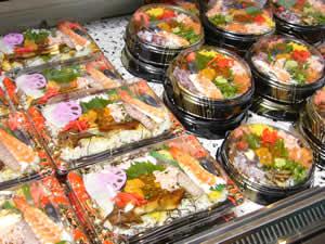 大名庵さんのお持ち帰り寿司・丼